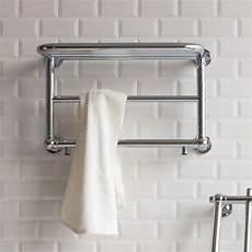 Bathroom Towel Rails by Burlington Strand Bathroom Towel Radiator With Shelf Uk