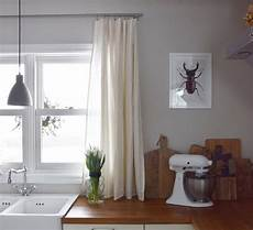 Vorhänge Für Küche - wie ihr in 10 minuten aus einer tischdecke einen vorhang