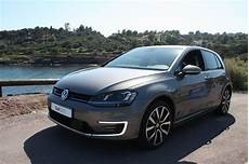 golf gte hybride rechargeable occasion volkswagen golf gte l hybride rechargeable 224 l essai