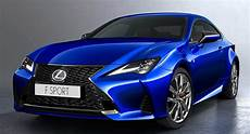 2019 lexus rc updated to follow its big brother s stylistic lead carscoops