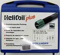 gewinde reparatur set helicoil plus m7 komplett