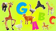 Learn Alphabet With Animals For Children Letter