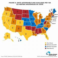 mapping the affordable housing deficit for each state in