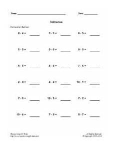 addition worksheets horizontal form 8882 basic handwriting for mathematics subtraction index