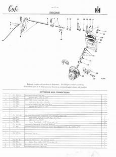 farmall c parts diagram governor questions farmall cub