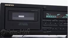 onkyo ta rw244 auto doppel kassettendeck