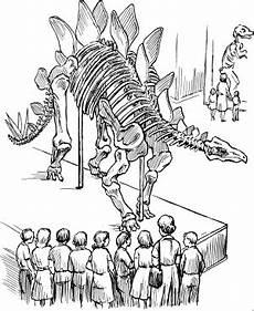 Ausmalbilder Zu Dinosaurier Dinosaurierskelett Ausmalbild Malvorlage Dinosaurier