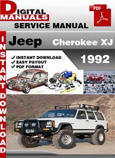 download car manuals pdf free 1992 jeep cherokee electronic valve timing jeep cherokee xj 1992 factory service repair manual download manu