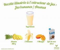 Recette Illustr 233 E Du Jus Mangue Banane Ananas Les Fruits
