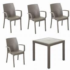 tavoli e sedie in resina per esterno set resina giardino tavolo da esterno quadrato 80x80