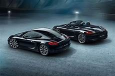 2016 Porsche Cayman Black Edition Shows Stealth
