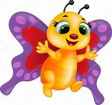 Malvorlagen Schmetterling Lustig Lustige Schmetterling Stockvektor 18812755
