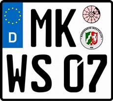 Nummernschild Bzw Kennzeichengenerator Wisch