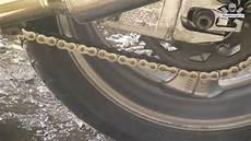 motorrad kette reinigen motorradkette reinigen mit selbstgemachter kettenb 252 rste