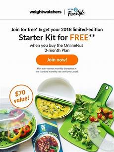 Weight Watchers Shop The New 2018 Starter Kit Is Here