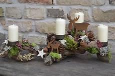 Kerzenständer Weihnachtlich Dekorieren - kerzen beleuchtung adventsgesteck hochwaldwanderung