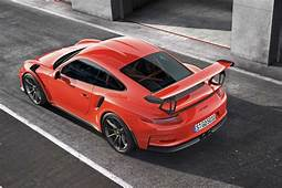 2016 Porsche 911 GT3 RS Price Specs Review And Photos