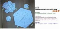 jeux pour apprendre les tables lynx des tables de multiplication table de