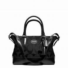 tas cantik ori coach 20466 black real bags
