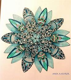 picture from creative coloring mandalas by valentina