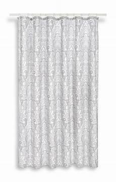 duschvorhang grau waschbarer duschvorhang in grau