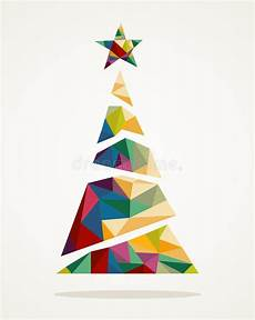 merry trendy abstract tree eps10 file stock