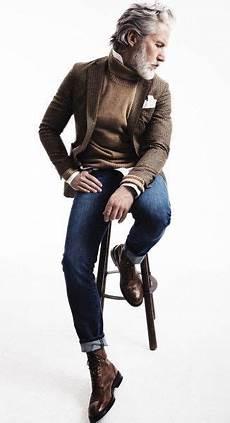 Moda Para Hombres De 50 A 241 Os26 Custom Hombres En 2019