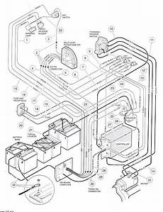 looking for a club car golf cart 48 volt wiring diagram to determine if replacing 6 8v