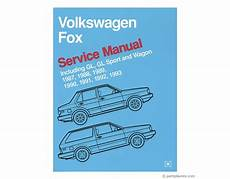 buy car manuals 1991 volkswagen fox user handbook vw fox repair manual free tech help