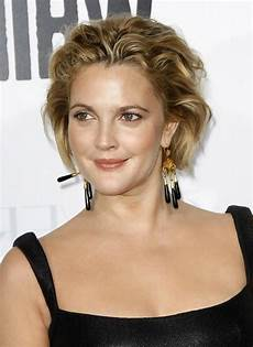 messy hairstyles for round faces drew barrymore short hairstyles best short hair styles