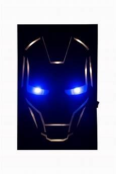 marvel iron man globox superhero wall light