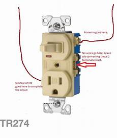 wiring a electrical single pole switched outlet the home depot community