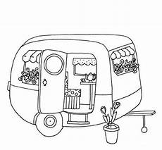 Malvorlagen Auto Mit Wohnwagen Cer Coloring Pages At Getcolorings Free Printable