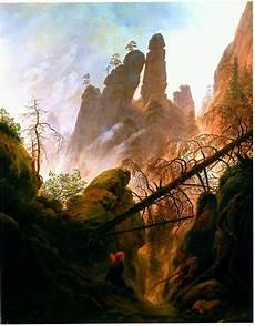 Romantik In Der Kunst - sous un ciel brouill 233 caspar david friedrich