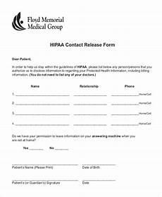 free 10 sle hipaa release forms in pdf