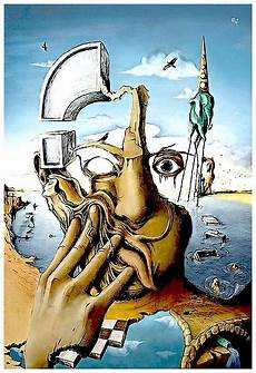 quot self portrait abstract salvador dali print quot poster by