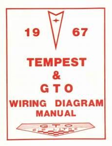 Pontiac 1967 Tempest Gto Wiring Diagram 67 Ebay