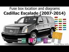 Fuse Box Location And Diagrams Cadillac Escalade 2007