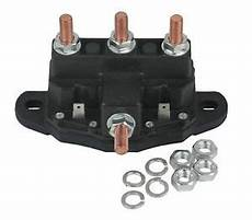 12 volt reversing continuous duty silver contact solenoid relay for winch motor ebay