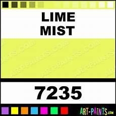 lime mist aquacote fluorescent enamel paints 7235 lime