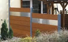Doppel T Träger Holz - ogrodzenie frontowe modular