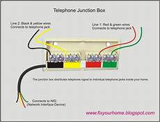 phone wiring fix your home telephone junction box