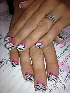pin by victoria pennington on nailed it zebra nail