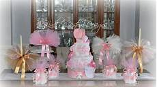 baby bathroom ideas pink gold baby shower decor set with cakes and tutus lindi s custom designs