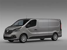 renault trafic l2h1 2015 by creator 3d 3docean