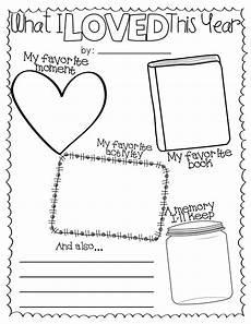 end of year activities free teach school worksheets