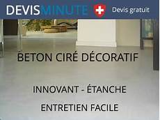 beton ciré devis b 233 ton cir 233 d 233 coratif sol et murs int 233 rieur et ext 233 rieur