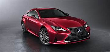 2019 Lexus RC Debuts In Paris With Hot LC Inspired Looks