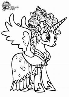 Ausmalbild Prinzessin Cadance Prince Cadence Coloring Pages To Print Giealvan