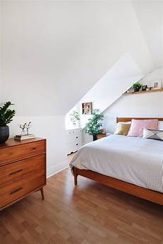 Apartment Therapy Attic Bedroom by Meg Justin S Plants Friendly Vibes Filled